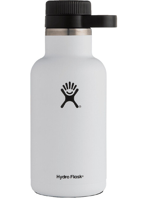 Hydro Flask Wide Mouth Beer Bottle 64oz (1900ml) White